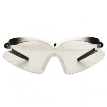 Prince Scopa Slim Squash Eyewear Black / White