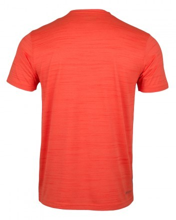 Dunlop Performance Crew Tee Neon Orange