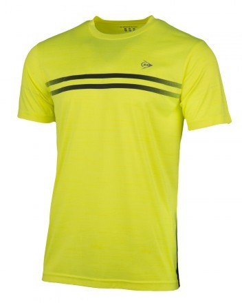 Dunlop Performance Crew Tee Neon Yellow