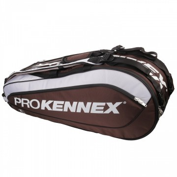 Prokennex Double Thermobag 6R Brown / White