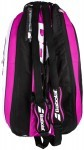 Babolat Thermobag x12Team Pink torba do squasha