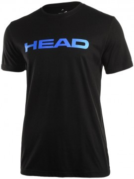 Head Ivan T-Shirt Black/Blue