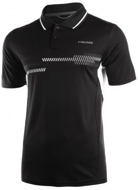 Head Club Technical Polo Shirt Black