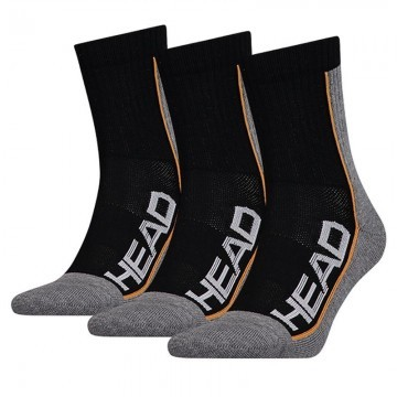 Head Tennis 3P Pefrormance Socks Black