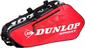 Dunlop Tour 6 rkt RED torba do squasha