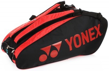 Yonex Pro Racket Bag Black/Red LTD