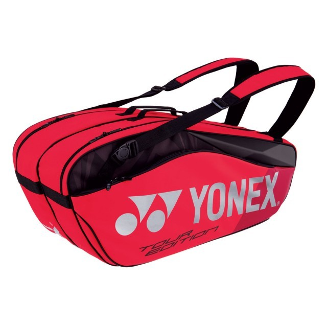 Yonex Pro Racket Bag 6R Flame Red