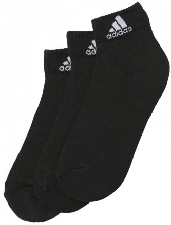 Adidas Performance Ankle Black 3 Pack