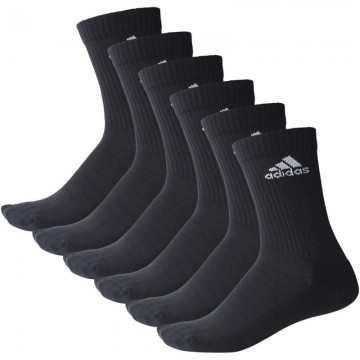 Adidas 3 Stripes Crew 6 Pack