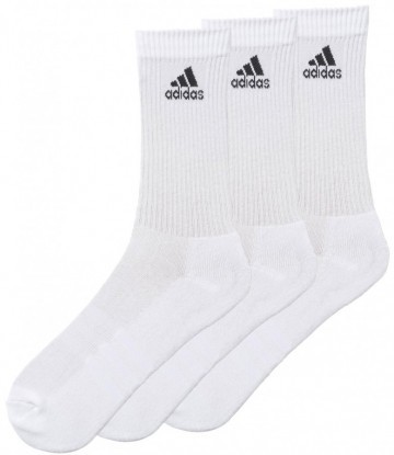 Adidas Performance Crew White 3 Pack