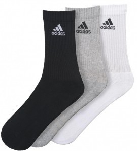 Adidas Performance Crew Mix 3 Pack