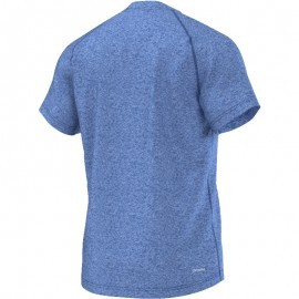 Adidas Base Heathered Tee Blue