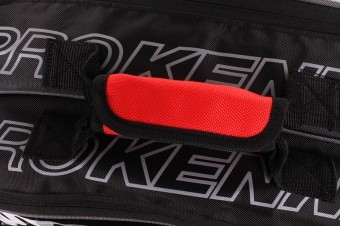 ProKennex Double Thermo Bag Black/Red torba do squasha