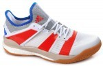 Adidas Stabil X White Solar Red buty do squasha