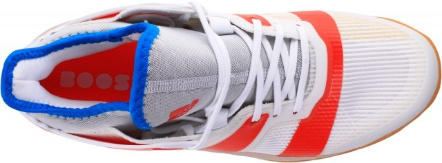 Adidas Stabil X White Solar Red