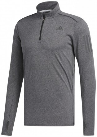 Adidas Response Long Sleeve Tee Grey