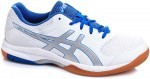 Asics Gel-Rocket 8 White/Blue buty do squasha