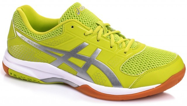 Asics Gel-Rocket 8 Green/Silver/White