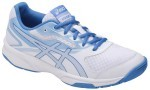 Asics Upcourt 2 White/Blue buty do squasha damskie