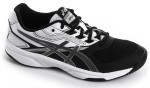 Asics Upcourt 2 Black White Silver buty do squasha damskie
