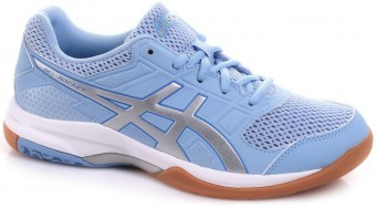 Asics Gel-Rocket 8 Blue/Silver/White buty do squasha damskie