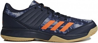 Adidas Ligra 5 Blue Orange buty do squasha