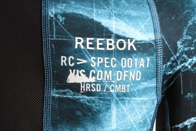 Reebok Combat Long Sleeve Rash Guard Blue
