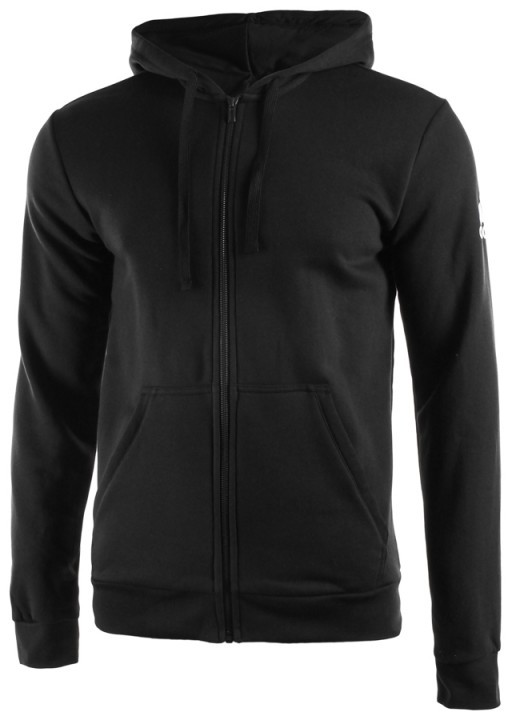 Adidas Essentials Base Full Zip Hoodie Black