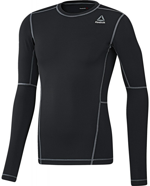 Reebok Workout Ready Compression Long Sleeve Black