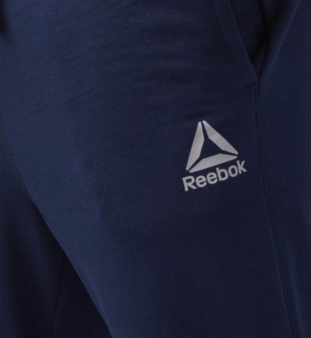 Reebok Elements French Terry Cuffed Pant Navy