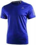 Adidas Response Short Sleeve Tee Royal Blue
