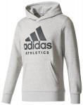 Adidas Sport ID Badge Of Sport Hoodie Grey