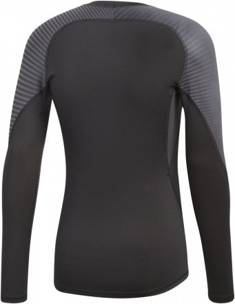 Adidas Alphaskin Sport Tee Long Sleeve Grey