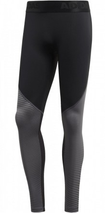 Adidas Alphaskin Tight Long Black Gey