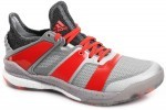 Adidas Stabil X Silver Red buty do squasha