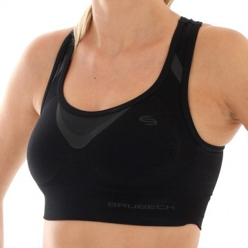 Brubeck Crop Top Black