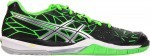 Asics Gel-Fireblast Black/Lighting/Neon Green buty do squasha