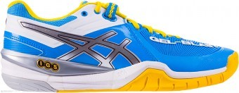 Asics GEL-BLAST 6 4193 Diva Blue/Lighting/White buty do squasha damskie