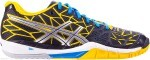 Asics GEL-FIREBLAST 9004 Black/Lighting/Yellow buty do squasha damskie