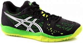 Asics Gel-Fireblast 2 9001 Black-Yellow buty do squasha
