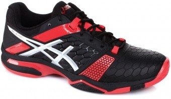 Asics Gel-Blast 7 Black/Silver/Red buty do squasha