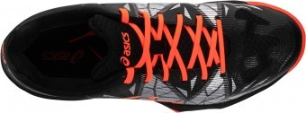 Asics Gel-Fastball 3 Black Orange buty do squasha