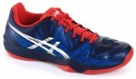 Asics Gel-Fastball 3 Blue White Red buty do squasha