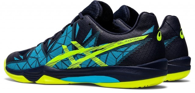 ASICS Gel-Fastball 3 Peacoat / Safety Yellow
