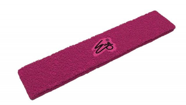 Eye Head Band Pink with Black Logo