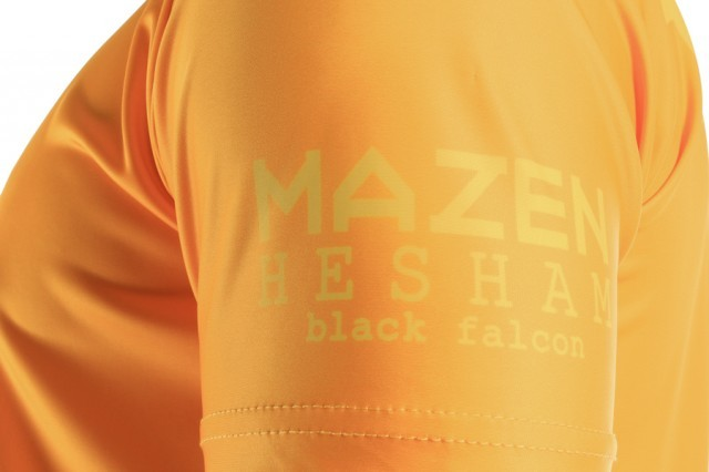 Eye T-Shirt Classic M.Hesham Yellow