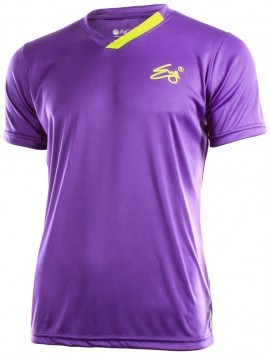 Eye Performance T-Shirt Purple Yellow