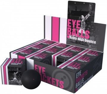 Eye Balls Pink Dot 12szt