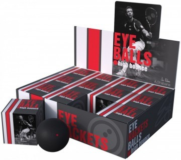 Eye Balls Red Dot 12szt