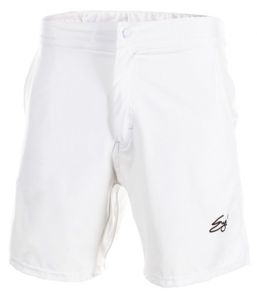 Eye Shorts White